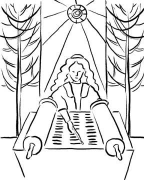 bat mitzvah coloring pages - photo#12
